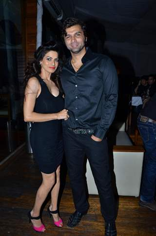 Chetan Hansraj with wife Lavina at Munisha Khatwani Birthday Bash