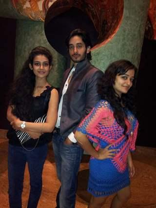 Akanshka, Siddharth and Jayashree