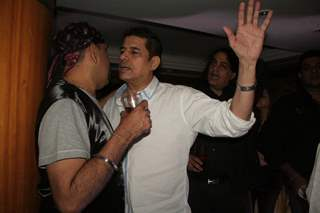 Sai Ballal and Sudesh Berry at Amita Ka Amit hundred episodes party