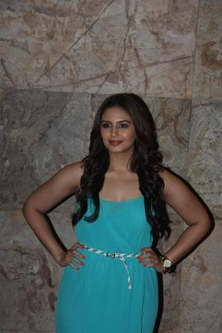 Huma Qureshi was seen at the Special Screening of film D-Day directed by Nikhil Advani