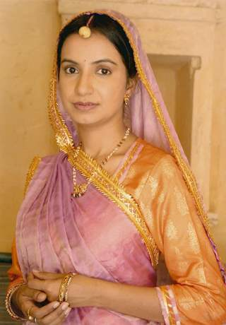 A still image of Bhagwati in the show Balika Vadhu