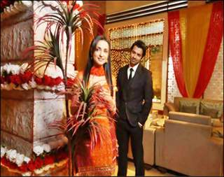 Barun Sobti and Sanaya Irani