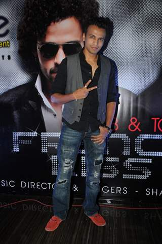 Abhijeet Sawant at the launch of their album 'French Kiss'