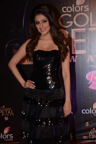 Aarti Chhabria at the COLORS Golden Petal Awards 2013