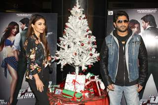 Soha and Arshad at the Press Conference to promote 'Mr Joe B. Carvalho'