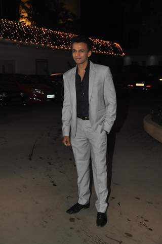 Abhijeet Sawant was at Raghav Sachar & Amita Pathak Wedding