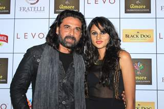 Mukul Dev was at the Amore Celebration and Events Launch Night