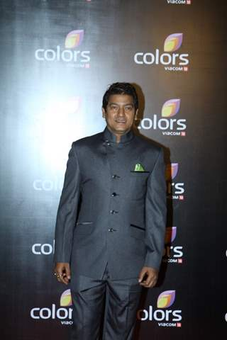 Aadesh Shrivastava was seen at the IAA Awards and COLORS Channel party