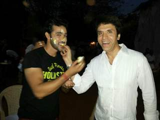 Sooraj Thappar at Karan Shrama's Birthday Bash on Ek Nayi Pehchaan