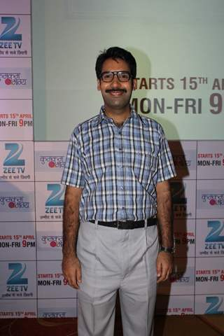 Faisal Rashid at the launch of 'Kumkum Bhagya'
