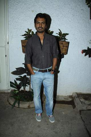 Nawazuddin Siddiqui at the Citylights special screening