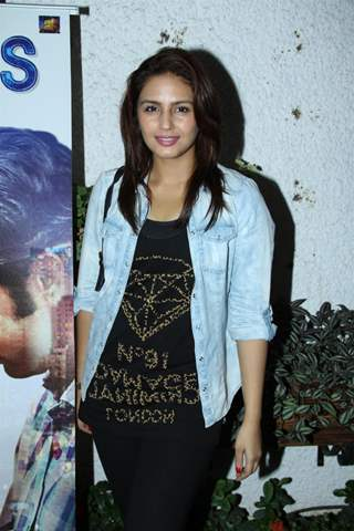 Huma Qureshi was at the Citylights special screening