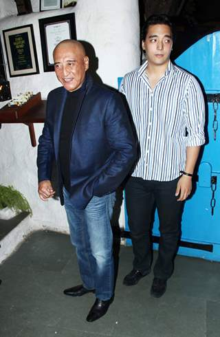 Dannt with his son at Heropanti success party