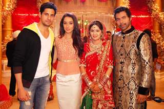 Promotion of Ek Villain on Kum Kum Bhagya