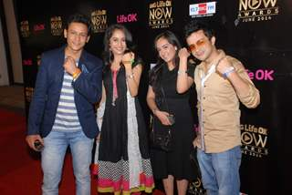 Cast of Baawre at Life OK Now Awards