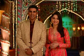 Akshay Kumar and Tammanah at Jahsn-e-Eid Celebrations