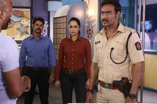 Ajay Devgn plays the character of a cop on C.I.D