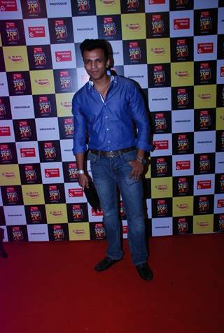 Abhijeet Sawant was seen at the Mirchi Top 20 Awards