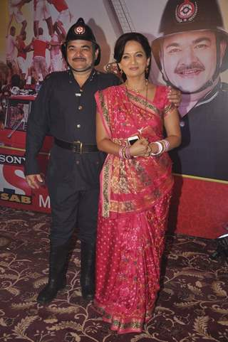 Prashant Damle and Kavita Laad at the Launch of Sab TV's Show Chandrakant Chiplunkar Seedi Bambawala