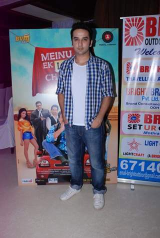 Puru Chibber was at the Music Launch of Meinu Ek Ladki Chaaiye