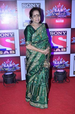 Usha Nadkarni was at SAB Ke Anokhe Awards