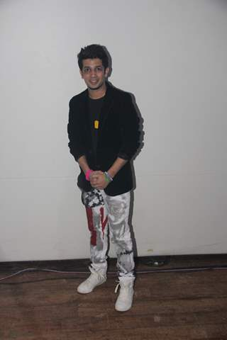Mudassar Khan poses for the media at the IIMUN Event