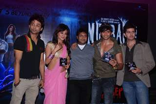 The Cast at the Music Launch of Movie 'Mumbai 125 Kms'