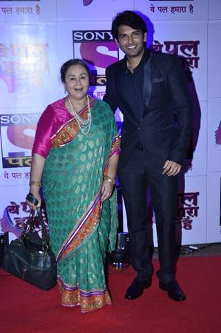 Rahul Sharma and Farida Dadi at the Red Carpet of Sony Pal Channel