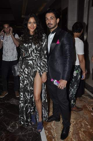 Abhinav Shukla was seen at the Lakme Fashion Week Winter/ Festive 2014 Day 5