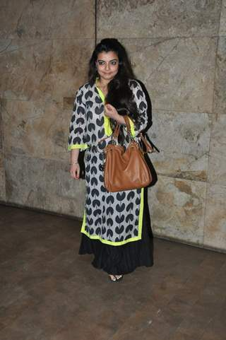 Vaibhavi Merchant was at the Special Screening of Mardaani