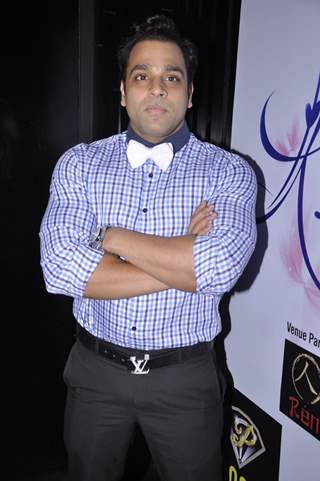 Abhishek Avasthi poses for the media at the Album Launch of Khushnuma