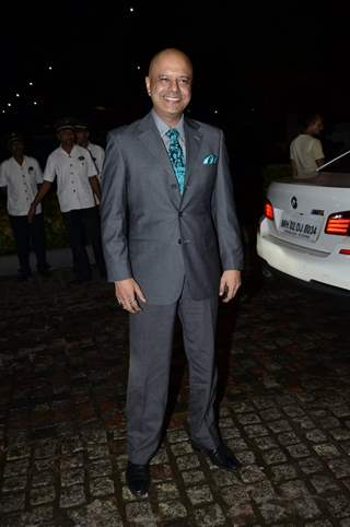 Naved Jaffrey was at Nikitan Dheer and Kratika Sengar's Wedding Reception