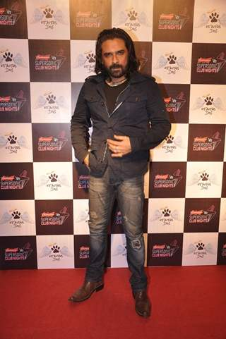 Mukul Dev poses for the media at the Launch of Heavens Dog Resturant