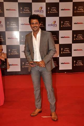 Aamir Dalvi at the Indian Telly Awards