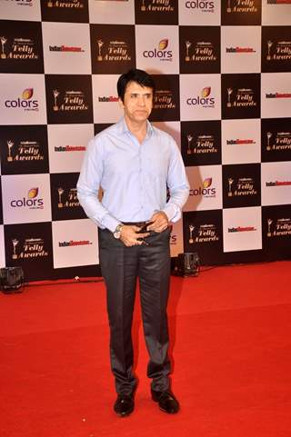 Sooraj Thapar at the Indian Telly Awards