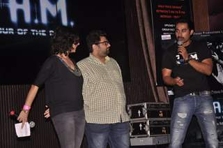 Rannvijay Singh and Kavin Dave at the Music Launch of 3 AM
