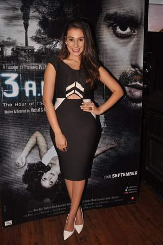 Anindita Naiyar was at the Music Launch of 3 AM