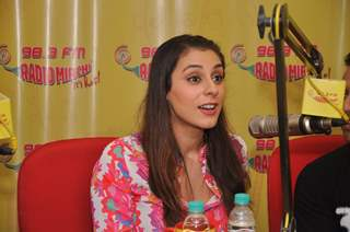 Anindita Nayar at Radio Mirchi for the promotion of 3 AM