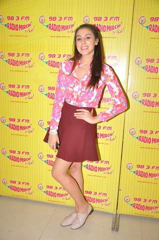 Anindita Naiyar poses for the media at the Promotion of the Movie 3AM at Radio Mirchi