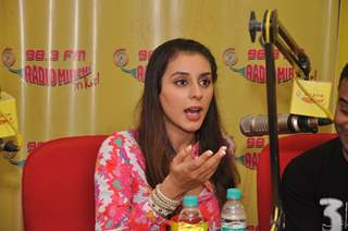 Anindita Naiyar snapped at the Promotion of the Movie 3AM at Radio Mirchi