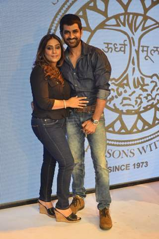 Poonam Narula and Manish Goel at S.P.J Sadhana School's Fund Raiser Event
