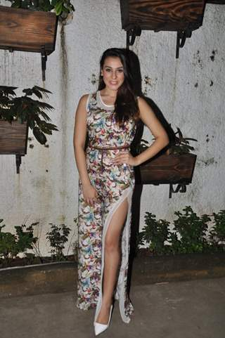 Anindita Naiyar poses for the media at the Premier of 3AM