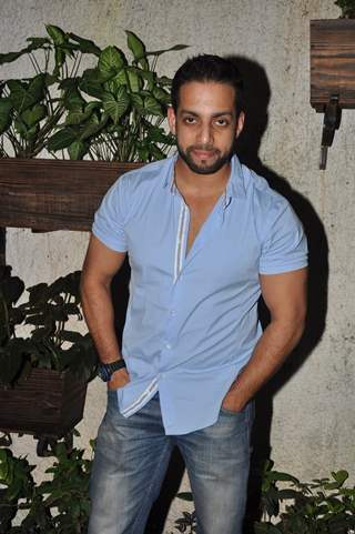 Salil Acharya poses for the media at the Premier of 3AM