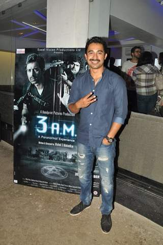Rannvijay Singh poses for the camera at the Premier of 3 AM