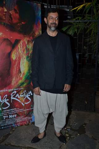 Rajat Kapoor was seen at the Rang Rasiya Fashion Promotions