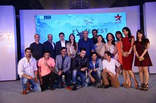 Cast at the Launch of Everest