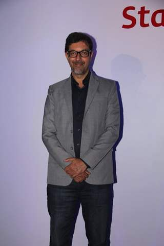 Rajat Kapoor poses for the media at the Launch of Everest