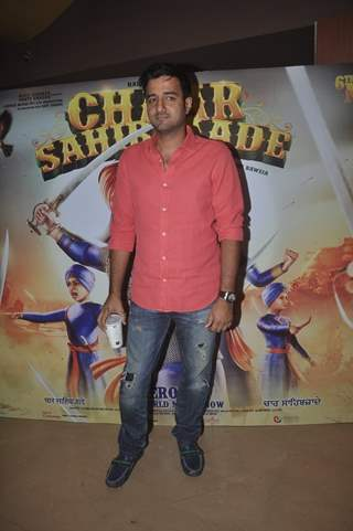 Siddharth Anand poses for the media at the Trailer Launch of Chaar Sahibzaade