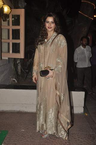 Aamna Shariff at Ekta Kapoor's Diwali Party