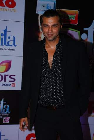 Chetan Hansraj was at the ITA Awards 2014